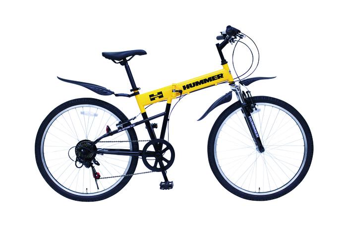 エスコ ESCO 【個人宅不可】 26インチ 折り畳み式自転車 EA986YB-17 [I270302]