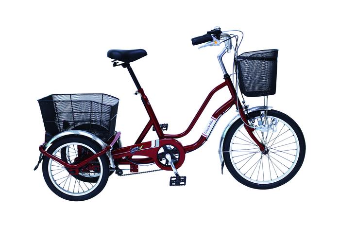 エスコ ESCO 【個人宅不可】 20インチ 折り畳み式自転車 EA986YB-21 [I270302]