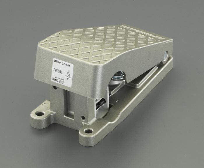 エスコ ESCO R1/4 足踏スイッチ(2方向) EA153SJ-1 [I160610]