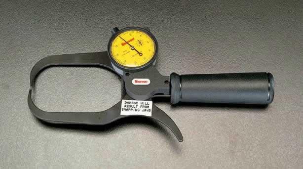 エスコ ESCO 0-50mm/200mm ダイアルキャリパーゲージ EA725AG-2 [I110919]