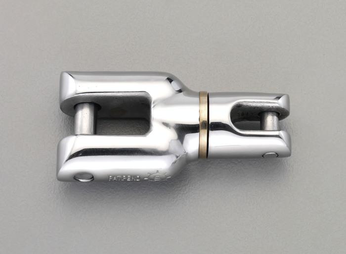 エスコ ESCO 【個人宅不可】 4500kg/22/39mm 強力型スイベル(ステンレス製) EA638FG-3 [I210621]
