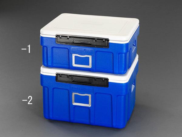 エスコ ESCO 607x497x352mm/66L クーラーボックス(ブルー) EA917AS-2 [I270302]