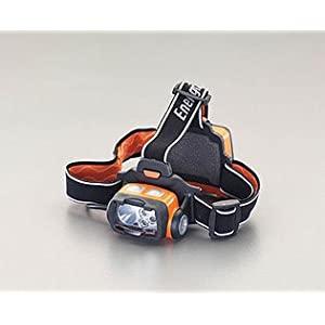 画像は代表画像です おトク ご購入時は商品説明等ご確認ください エスコ ESCO 単3x3本 ヘッドライト EA758EA-5 緑光 赤 LED I120205 業界No.1 白