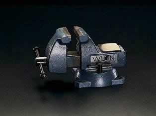エスコ ESCO 125mm/0-133mm メカニックバイス(回転台付) EA525W-125 [I060802]