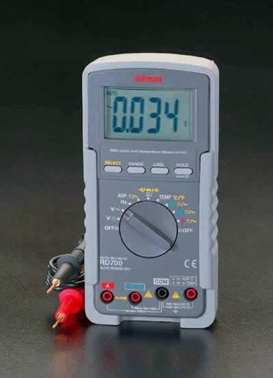 エスコ ESCO デジタルマルチメーター EA707D-17 [I110217]