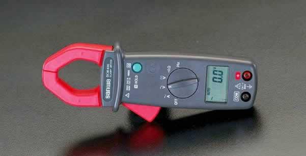 エスコ ESCO デジタルクランプメーター(周波数測定) EA708D-15 [I110205]
