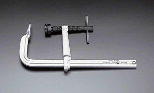 【★店内ポイント2倍!★】エスコ ESCO 0-1250mm/120mm L型クランプ EA526TL-50 [I030301]