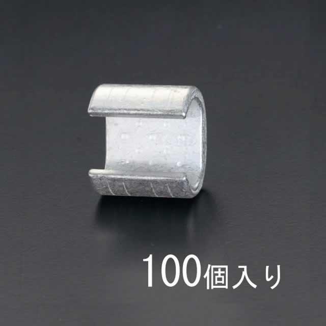 エスコ ESCO 45.0-60.0mm2 T形コネクター(100個) EA539FA-60 [I200229]