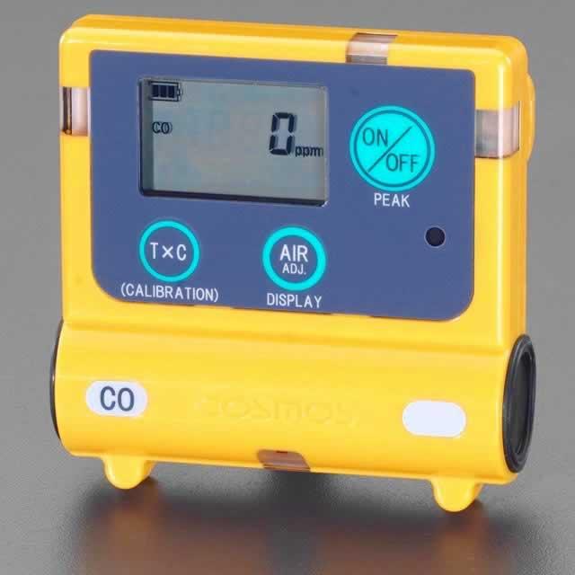 エスコ ESCO 65x14x50mm/65g 一酸化炭素濃度計 EA733AH-1 [I110103]