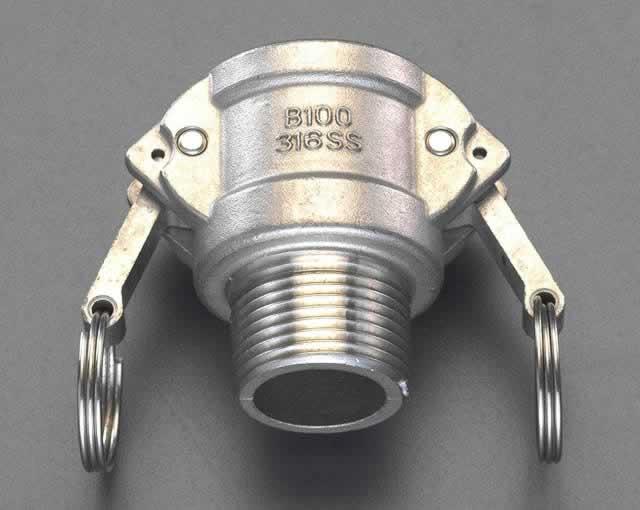 エスコ ESCO R2・1/2 雄ねじカップリング(ステンレス製) EA462DM-25 [I180204]