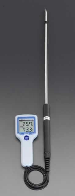 エスコ ESCO デジタル温度・湿度計 EA742GK-10 [I110405]