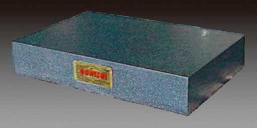 エスコ ESCO 250x 250x 75mm [JIS 0級]精密グラナイト定盤 EA719XB-3 [I110907]