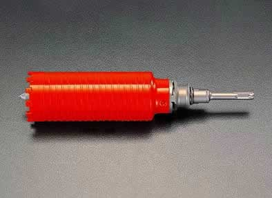 【15日限定☆カード利用でP14倍】エスコ ESCO 130mm 乾式ダイアモンドコアドリル(SDS) EA865CA-130 [I140103]