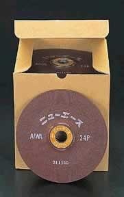 【◆◇エントリーで最大ポイント5倍!◇◆】エスコ ESCO 180x6mm/WA24P オフセット型砥石(25枚) EA809YA-24 [I140202]