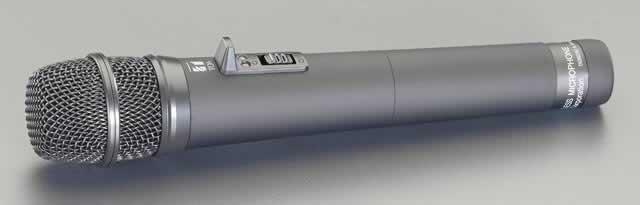 エスコ ESCO 充電式マイク(EA763CF-11用) EA763CF-11B [I260224]