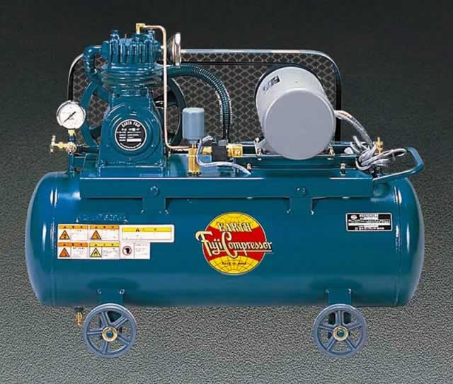 エスコ ESCO AC100V/750W /50Hz エアーコンプレッサー(タンク 57L) EA116FA-50 [I160101]