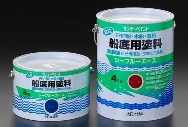 【◆◇スーパーセール!最大獲得ポイント19倍!◇◆】エスコ ESCO 4.0kg [油性]船底用塗料(赤) EA942EN-11 [I050306]