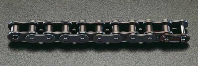 エスコ ESCO #140/1・3/4(44.45mm)x3m ローラーチェーン EA967E-11 [I230204]