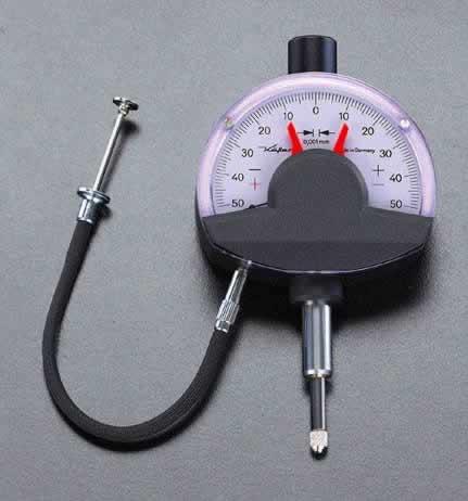 エスコ ESCO 0.1mm/0.001 ダイアルコンパレーター EA725LG-5 [I110926]