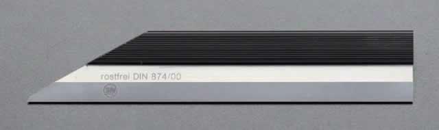 【★4時間限定!獲得最大P10倍!★限定期間注意!】エスコ ESCO 300mm ナイフ形ストレートエッジ(INOX) EA720YH-77 [I110902]