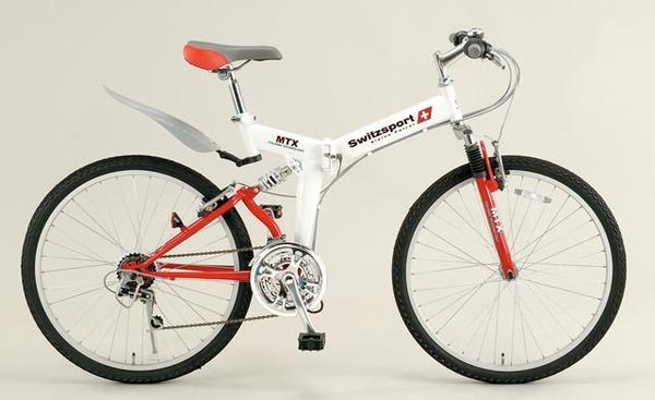 エスコ ESCO 26インチ 折畳み式自転車 EA986Y-31A [I270302]