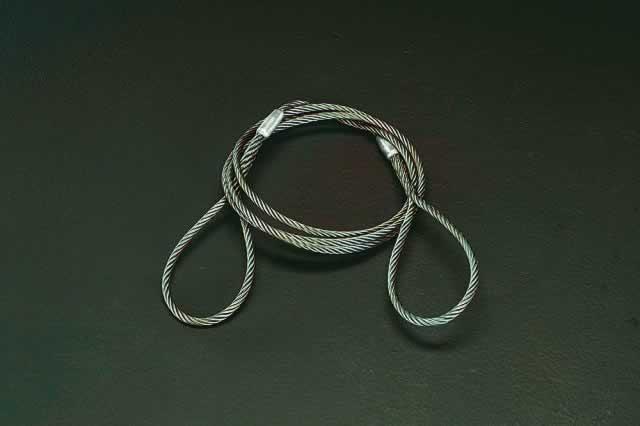 エスコ ESCO 20mmx5.0m ワイヤースリング EA981WK-77 [I170801]
