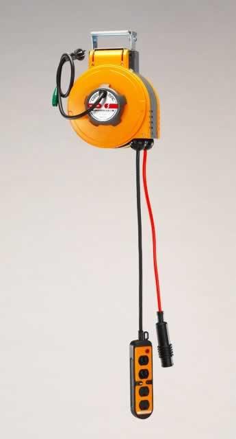 エスコ ESCO AC125V/15Ax 8mコンセント(自動巻リール付) EA815SS-21 [I140602]