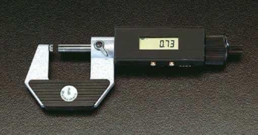 【◆◇マラソン!ポイント2倍!◇◆】エスコ ESCO 250-275mm デジタルマイクロメーター EA725EF-11 [I110916]