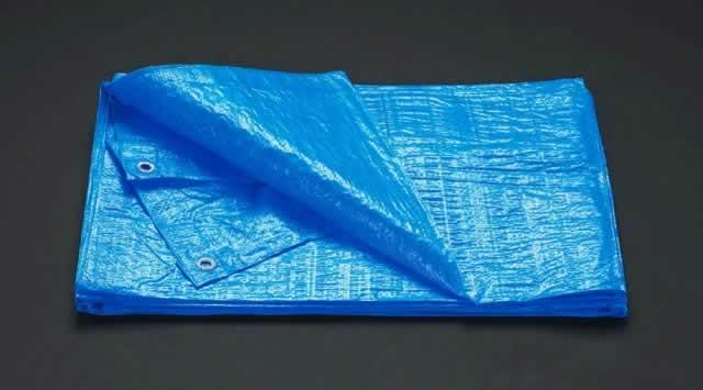 【◆◇エントリーで最大ポイント5倍!◇◆】エスコ ESCO 5.4x7.2m ブルーシート(#1500/5枚) EA911AB-14 [I171205]