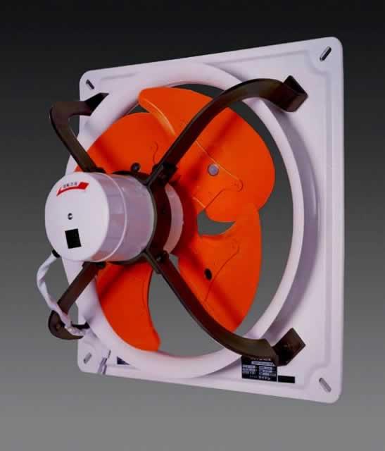 エスコ ESCO AC100V/40cm 工業用換気扇(3速) EA897E-40B [I020704]
