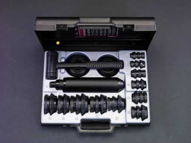 エスコ ESCO 10- 50mm ベアリング挿入工具セット EA510ZD-1 [I060411]