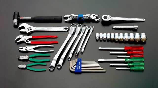 エスコ ESCO [46個組] 工具セット EA612SC-26 [I010601]