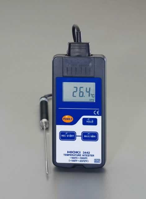 エスコ ESCO デジタル温度計(防滴型) EA701HA-2 [I110401]
