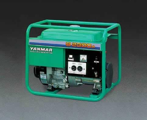 エスコ ESCO AC100V/2.3kw(60Hz) 発電機 EA860C-2 [I140701]