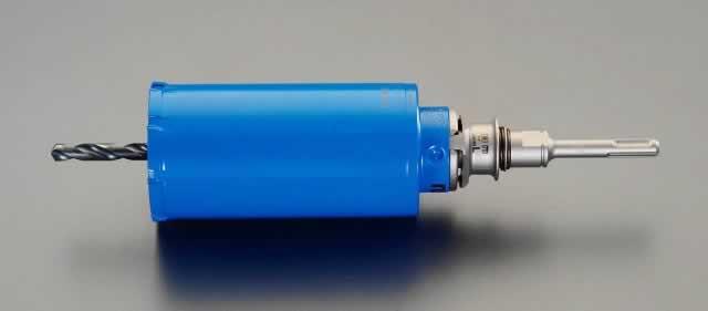【30日限定☆カード利用でP14倍】エスコ ESCO 75mm [ガルバリウム鋼板用]コアドリル(SDSシャンク) EA820DB-75 [I140103]
