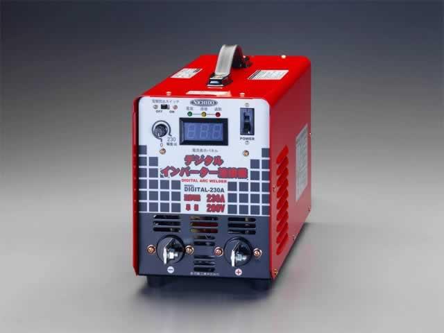 【★店内ポイント2倍!★】エスコ ESCO 単相200V/230A デジタルインバーター直流溶接機 EA315HJ-2 [I030204]