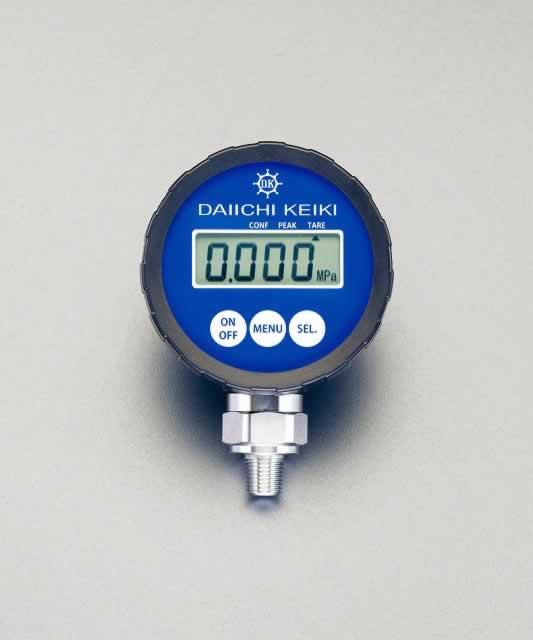 """エスコ ESCO R 1/4""""/ 0-1.0MPa デジタル圧力計 EA729DZ-1 [I111101]"""