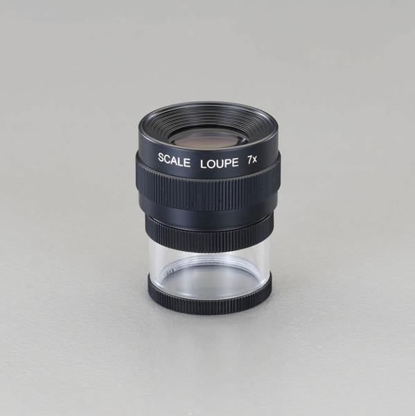 【◆◇エントリーで最大ポイント5倍!◇◆】エスコ ESCO x7/23mm スケールルーペ EA756D-7 [I120113]
