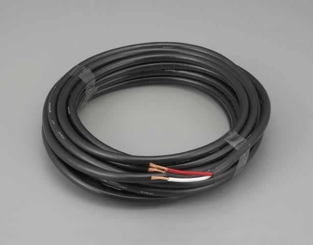 エスコ ESCO 0.75mm2x20m/3芯 [2種EPゴム]キャプタイヤケーブル EA940AY-2 [I200101]