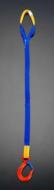 エスコ ESCO 1.5tonx 1.5m [1本吊り]金具付スリング EA981EC-1.5A [I170804]