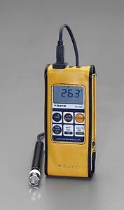エスコ ESCO -30゜/+400℃ 防水型デジタル温度計 EA701SA-20 [I110401]
