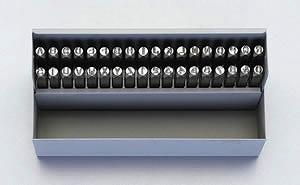 【◆◇エントリーで最大ポイント5倍!◇◆】エスコ ESCO 9.5mm 英字・数字 刻印セット EA591HN-9 [I060808]