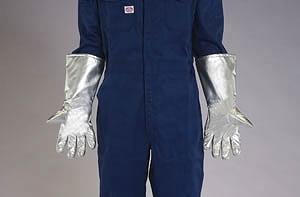 エスコ ESCO [フリー] 400mm 耐熱・防炎手袋(アラミド繊維) EA353AB-29 [I030307]