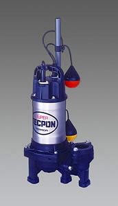 【◆◇エントリーで最大ポイント5倍!◇◆】エスコ ESCO AC100V(50Hz)/40mm 水中ポンプ(汚物混入用) EA345JY-150 [I040202]