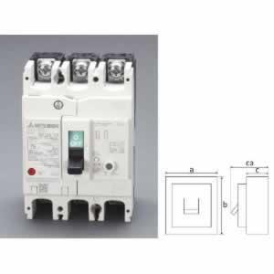 【◆◇エントリーで最大ポイント5倍!◇◆】エスコ ESCO AC100-440V/ 60A/3極 漏電遮断器(フレーム100) EA940MN-46 [I200229]