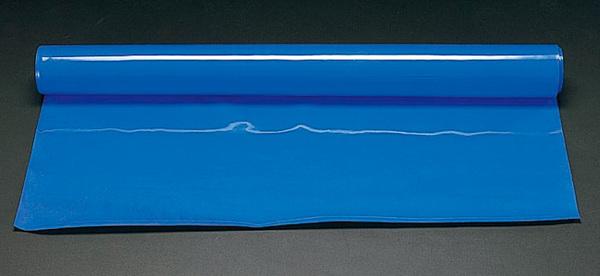 【◆◇エントリーで最大ポイント5倍!◇◆】エスコ ESCO 1000x4mmx 5m ゴムシート(ブルー) EA997RB-405B [I240403]