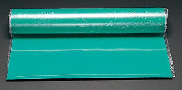エスコ ESCO 1000x4mmx 5m ゴムシート(グリーン) EA997RB-405G [I240403]