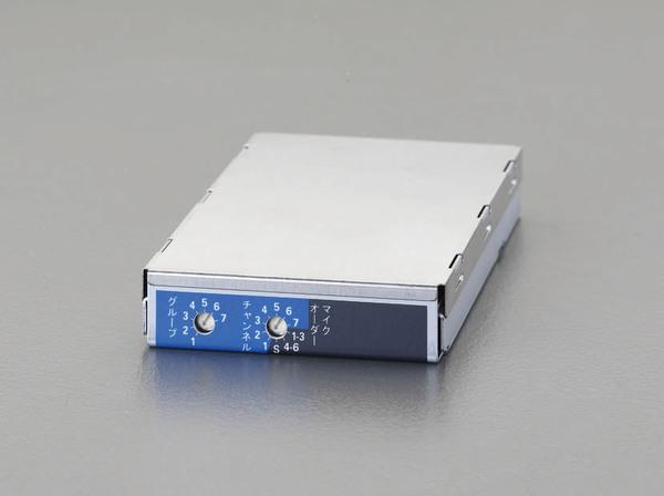 【5日限定☆カード利用でP14倍】エスコ ESCO ワイヤレスアンプ用チューナーユニット(800MHz帯) EA763CF-46 [I260224]