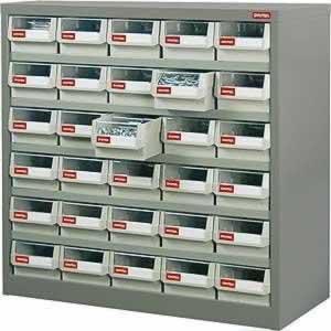 エスコ ESCO 880x400x880mm/5列 6段 パーツキャビネット EA957F-22 [I270105]
