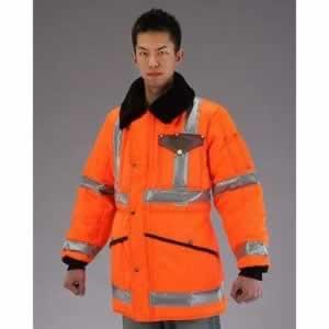 エスコ ESCO [2XL] 防寒ジャケット(注意色 オレンジ) EA915GB-45 [I260123]